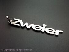 VW Golf 2 Schlüsselanhänger Zweier GTI G60 VR6 1,8T 16V Turbo Edition One Blue
