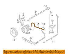 audi 8e0422887s genuine oem factory original p s suction hose ebay  audi oem 05 09 a4 quattro power steering suction hose 8e0422887s