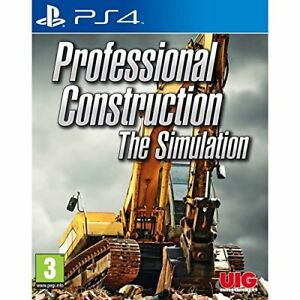 Professional-Construction-The-Simulation-PS4-NEW-AND-SEALED-QUICK-DISPATCH