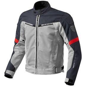 giacca moto donna rev'it voltiac rosso