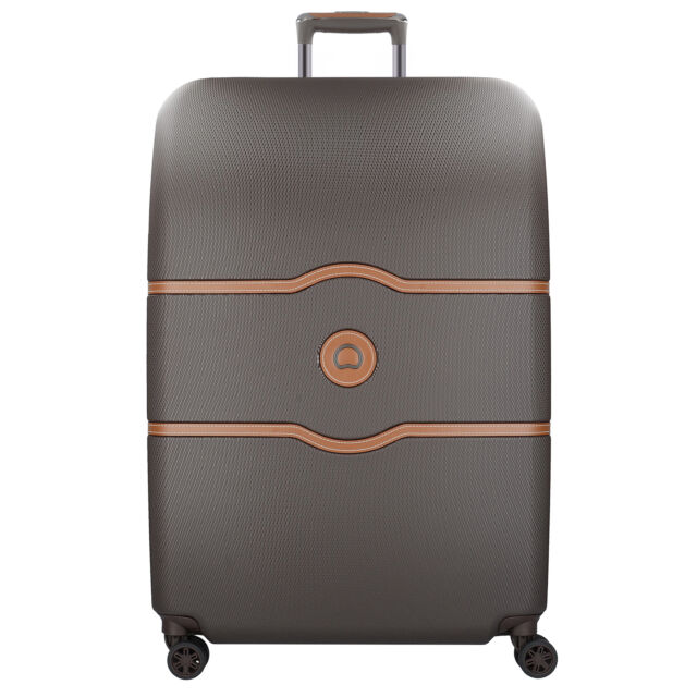 b5344c36d Delsey Chatelet Air 4-Wheels Trolley Suitcase Hard Luggage 82 cm  (schokolade)