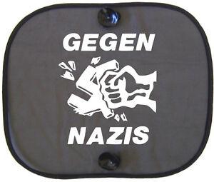 GEGEN-NAZIS-Auto-Sonnenschutz