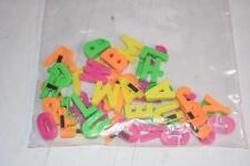 Bag Lot Alphabet Fridge MAGNETS Pre-school Kids BAby