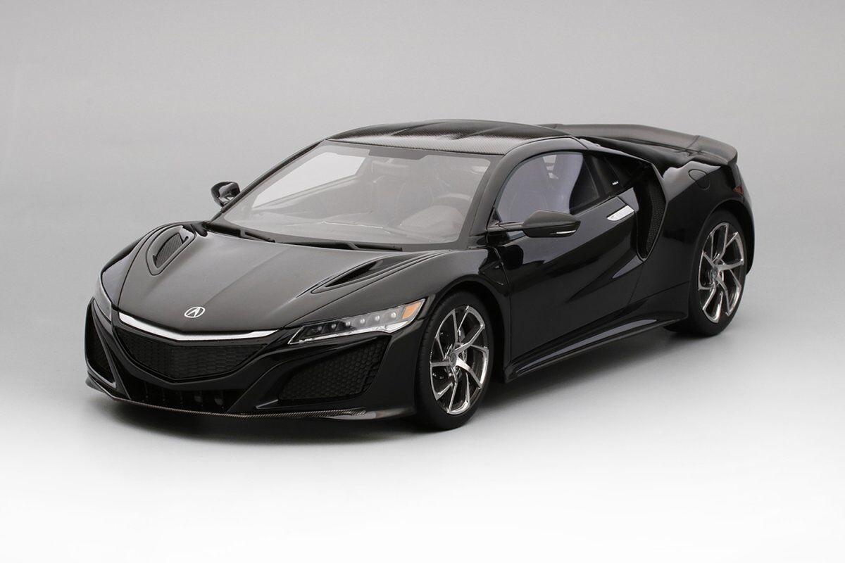 ganancia cero Modelo de coche de resina velocidad súperior Acura NSX NSX NSX LHD 1 18 (Berlina Negro) + Regalo     El nuevo outlet de marcas online.