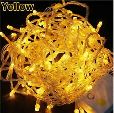 Connectable 10m 100 Led Christmas Tree Fairy String Party Lights Lamp Xmas