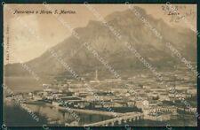 Lecco Città Monte San Martino cartolina VK0832