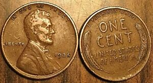 G//VG 1935 Lincoln Wheat Penny