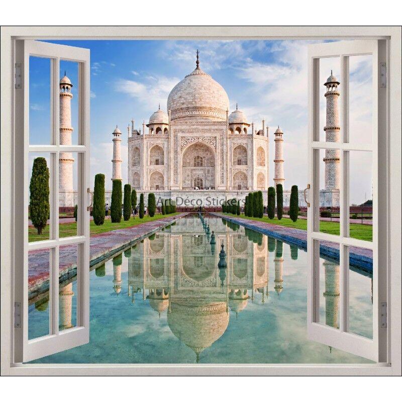 Aufkleber Fenster Schein Auge Taj Mahal Ref 5463 5463