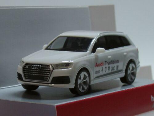 Herpa audi q7 Audi tradición, Weiss - 094085 - 1:87