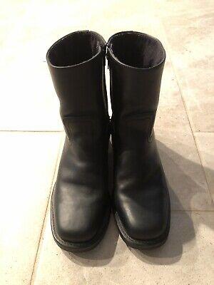 Mens 9.5 Frye Zip Up Boots   eBay