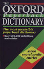 Oxford Paperback Dictionary by Oxford University Press (Paperback, 1994)