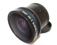 For Canon Eos Rebel T6i 750d T5i Sl1 Pro Hi Def 0.15x Xtreme Fisheye Lens