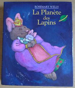 Coffret 3 livres La planète des lapins de Rosemary Wells