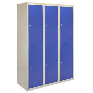 Steel Staff 2 Door Storage Lockers
