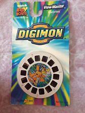 New Digimon Digital Monsters View Master 3D 2000 3 Reels Fox Kids