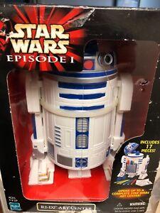 STAR-WARS-Episode-1-R2-D2-ART-CENTER-Collectible-Set-RARE-amp-NEW