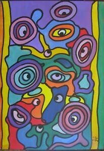 FRANZ-J-BLANK-1932-KOMPOSITION-ABSTRAKT-HOCHWERTIG-OLGEMALDE-MODERN-ART