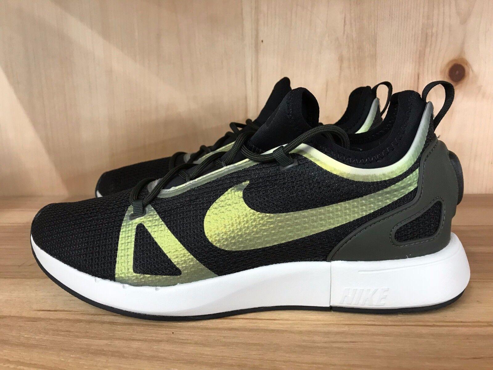 Nike duello racer nero sequoia osso roshe huarache presto sz gli 8 e i 13 918228-012