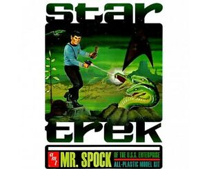 amt-624-Mr-Spock-Collector-039-s-Edition-1-12-model-kit-amp-tin-new-in-the-lunch-ti