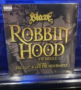 Blaze-Ya-Dead-Homie-Robin-Hood-CD-SEALED-rare-twiztid-insane-clown-posse-icp