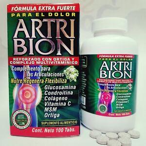 100-tabs-ARTRIBION-amp-ortiga-ARTHRITIS-glucosamina-OSTEOPOROSIS-ARTICULACIONES
