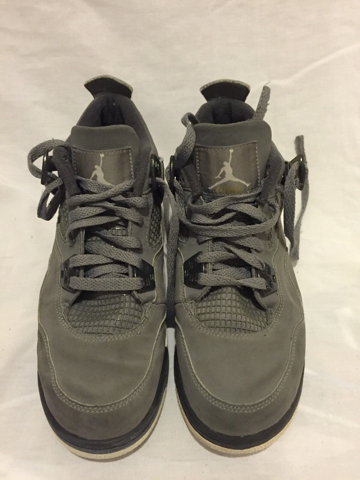 2008 Nike Air Jordan IV 4 Retro GS 308498 001 US Sz 6.5 Y Men's 7 W's 8.5