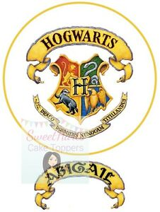 Harry Potter Edible Cake Topper Logo