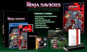 Ninja-Savior-039-s-Return-of-the-Warriors-Collector-039-s-Edition-PS4-New-PlayStation-4