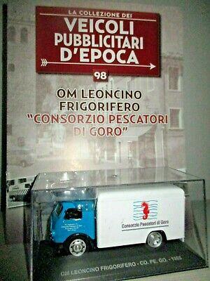 OM Leoncino Frigorifero CoPeGo 1966 1:43 Altaya Modellauto