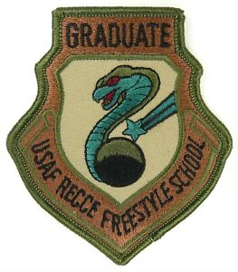 USAF 45th RS RECONNAISSANCE SQUADRON PATCH