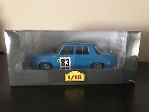 Renault 8 Gordini Rallye Piot 1966 - Ixo Altaya 1/18 (eb13)
