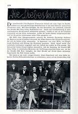 Experiment - Blond oder Schwarz Die Liebeskurve Messungen an Bühnen-Stars c.1928