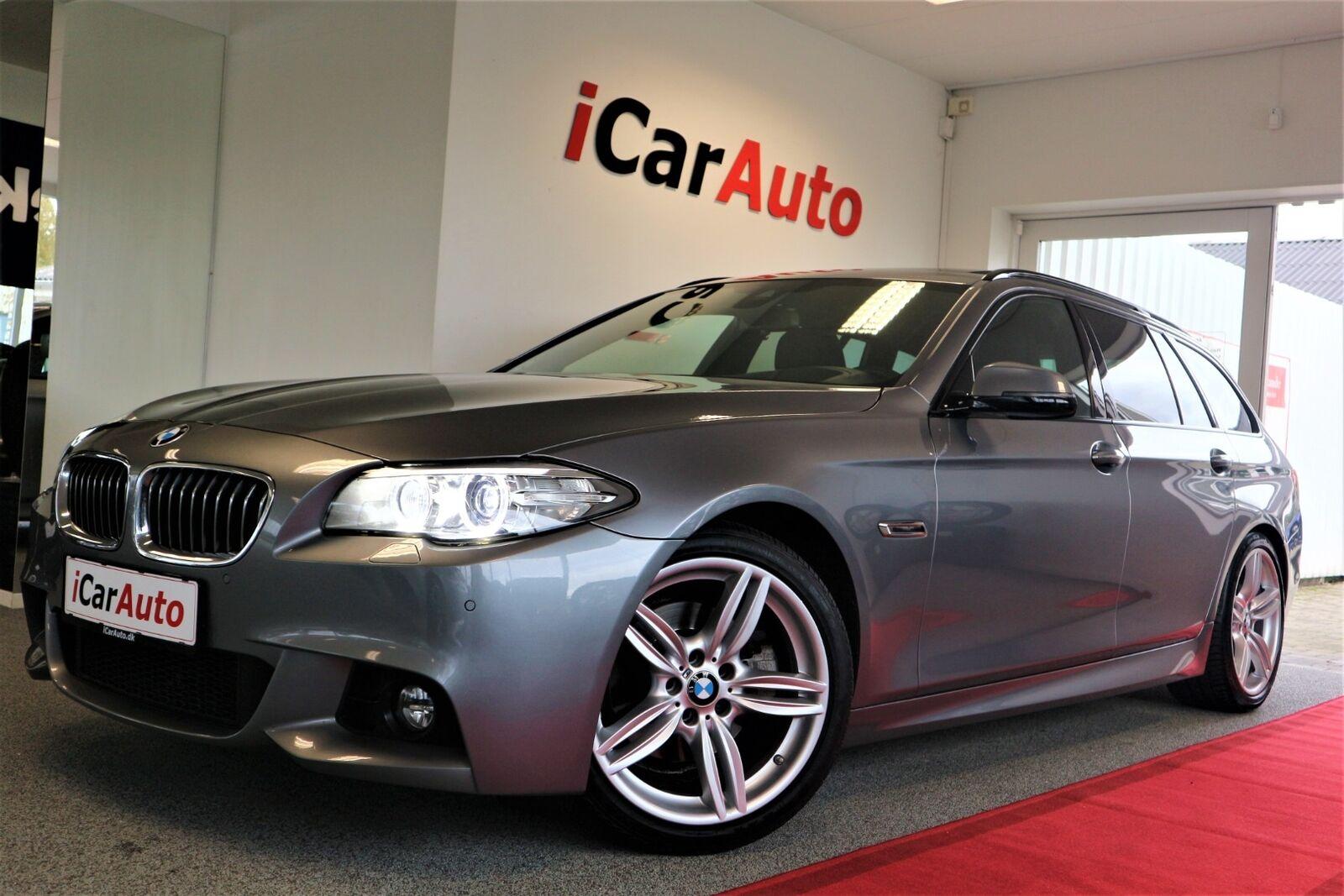 BMW 520d 2,0 Touring M-Sport aut. 5d - 399.800 kr.