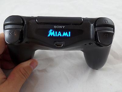 PlayStation 4 PS4 Controller Miami Marlins LightBar Decal Sticker
