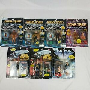 NEW-7-Star-Trek-Playmates-Actiom-Figure-LOT-From-Movies-amp-Deep-Space-Nine