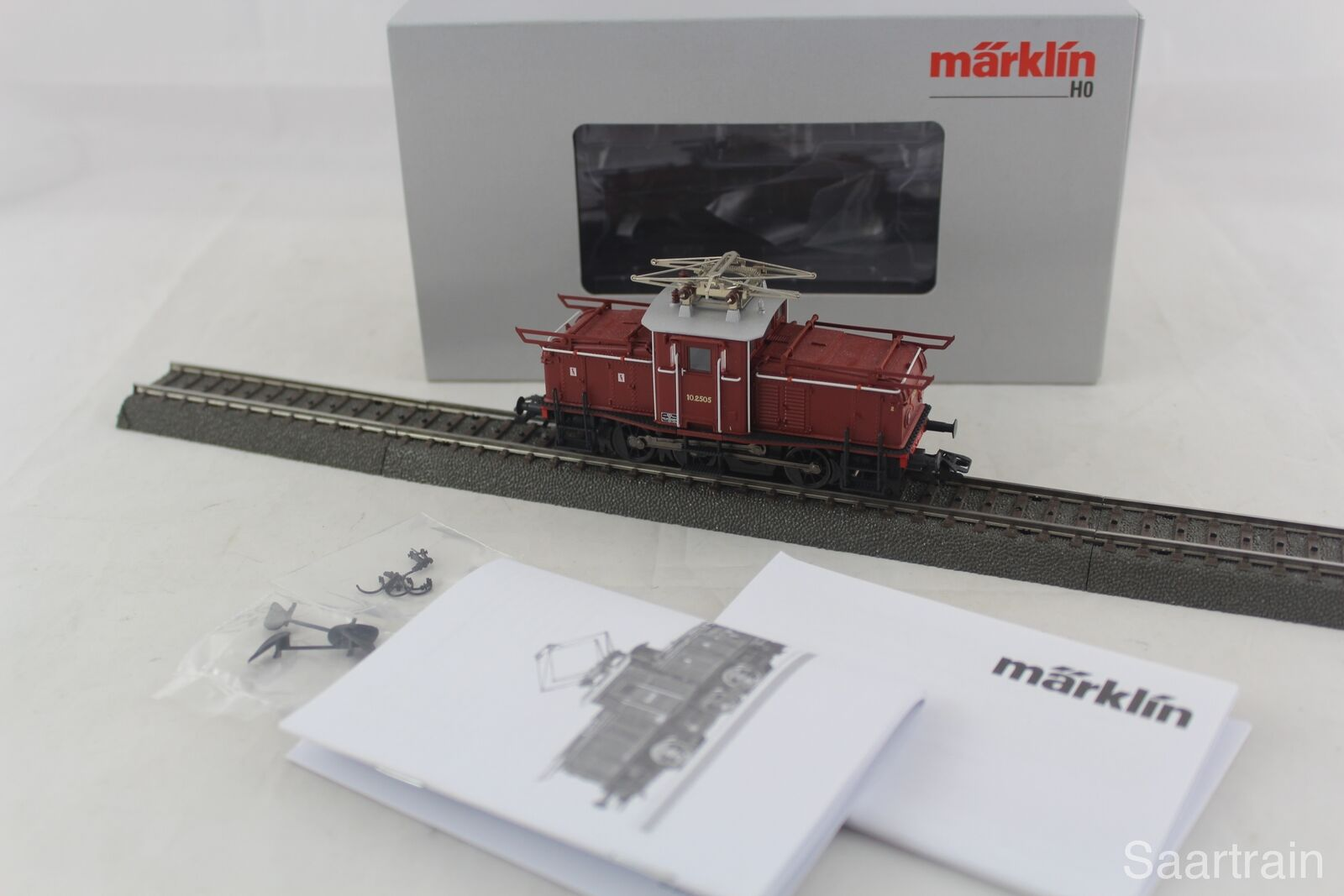 36334 elektrolokomotive el 10 della NSB marrone, digitale e con imballo originale
