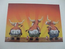 "6 Texas greeting cards by tree free greetings 7""x5"""