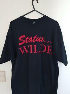 Kim-Wilde-Status-Quo-Quofest-Unofficial-2011-Tshirt-Size-Medium