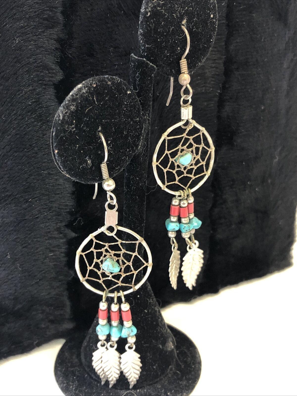 TURQUOISE DREAM   Hoop Earrings