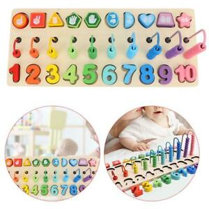 Wooden-Ten-speed-Counting-Rack-Toy-Beads-Number-Graphical-Kid-Math-Puzzle-Toy-SG