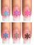 Indexbild 3 - Nail Tattoo Nail Art Schneeflocken Eiskristalle Winter Weihnachten + Glitter
