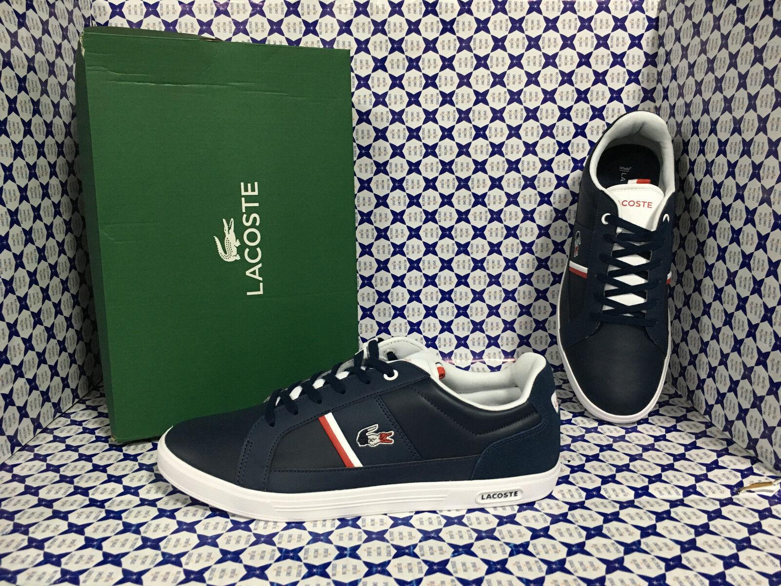 shoes Lacoste men - Europa 317 1 SPM - blue Bianco - SPM001