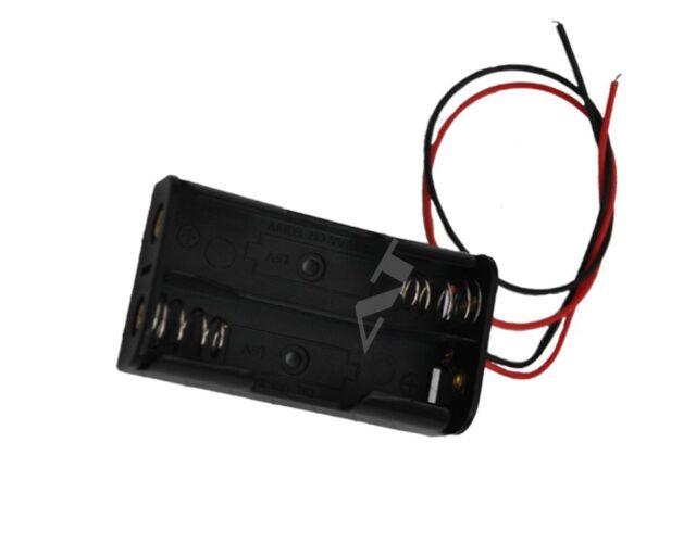 Batteriehalter für 2x 18650 Zellen mit Anschluss
