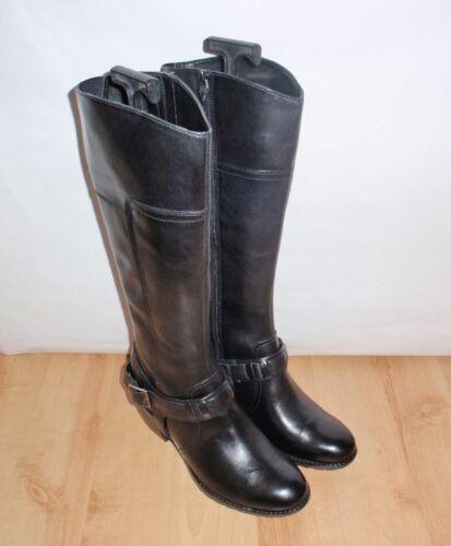 Womens da New colore Stivali di pelle Clarks Style nero Majestic in equitazione 5CxqrBwxXA