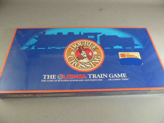 Vintage The Lionel Train giocodoppio Crossing nuovo Sealed