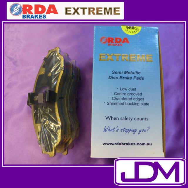 RDA EXTREME Front Brake Pads Holden HQ, HJ, HX, HZ & WB