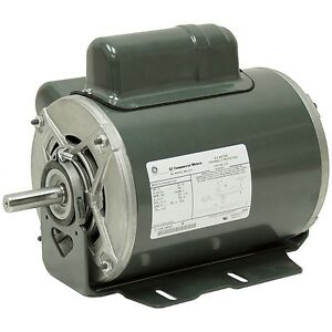 1 2 hp 1140 rpm 230 volt ac general electric motor 10 2826 for One horsepower electric motor