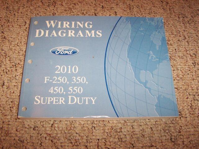 2010 Ford Super Duty F350 Electrical Wiring Diagram Manual