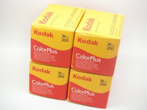 4 X Kodak Colorplus 200 35mm 36Exp-Película de impresión de Color Barato