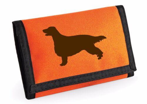 Red Setter Dog Wallet Rip-Stop Purse Birthday Gift  Xmas Gift Irish Setter